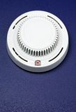 Fire alarm. Generic smoke and fire alarm detector Royalty Free Stock Photo