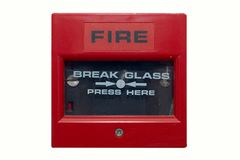 Free Fire Alarm Royalty Free Stock Photos - 348838