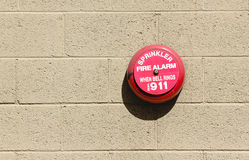Fire Alarm Bell royalty free stock photography