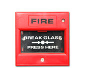 Fire alarm box Royalty Free Stock Image