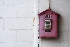Fire alarm box Stock Photos