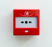 Fire alarm. Royalty Free Stock Image