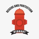 Fire alarm design. Vector illustration Stock Photo