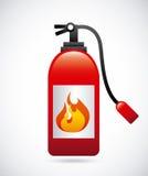 Fire alarm design. Vector illustration Royalty Free Stock Photography