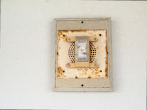 Fire alarm with emergency light Stock Images