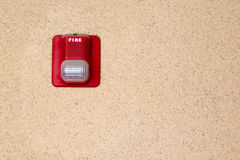 Fire alarm light Stock Images