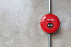 Free Fire Alarm On The Wall Stock Photography - 29046532