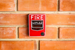 Fire alarm. Stock Photography
