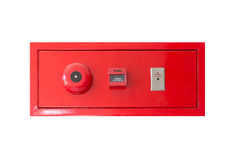 Fire alarm panel Stock Photo