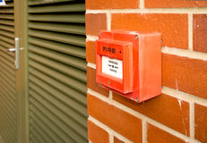 Fire alarm point 2 Stock Photos