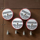 Fire alarm sprinklers Stock Photo