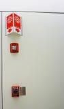 Fire alarm system Stock Photos