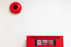 Fire alarm system Royalty Free Stock Images