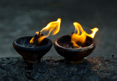 Fire amulet Royalty Free Stock Images