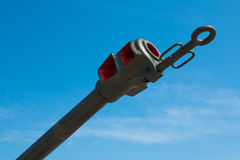 Fire arrester on a blue sky background Royalty Free Stock Images