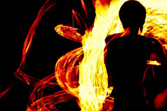Fire art Stock Photography