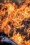 Fire as a concept of power Stock Photos