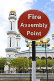 Fire Assembly Point Stock Images
