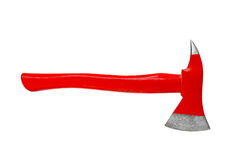 Fire axe isolated on white. Background stock photography