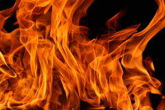 Fire backdrop Stock Photo