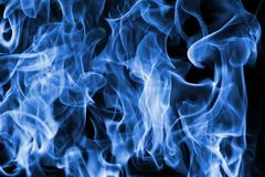 Fire backdrop. Closeup view of propane fire backdrop Royalty Free Stock Photo