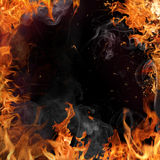 Fire backgorund Stock Images