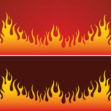 Fire Background. Element for design, vector illustration Stock Photos