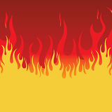 Fire Background. Element for design, vector illustration Royalty Free Stock Photography