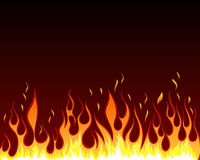 Fire background. Inferno fire vector background for design use Royalty Free Stock Image