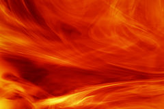 Fire background. Smooth abstract fire background or texture Royalty Free Stock Photography