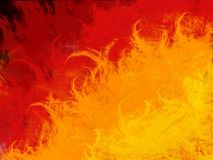 Fire Background. Abstract gradient flames background with burning feel Stock Photography