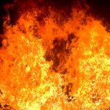 Fire background. Highly detailed abstract fire background Stock Photo