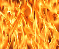 Fire background. Fire flames background. High resolution image Stock Photos