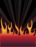 Fire background. With place for your text Stock Image