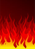 Fire background Stock Photos