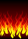 Fire background. With place for your text Stock Photo