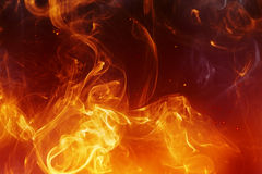 Fire background. Abstract fire background with smooth lines Royalty Free Stock Images