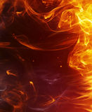 Fire background. Abstract fire background for your project Royalty Free Stock Images