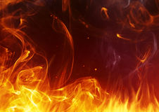 Fire background. Abstract fire background for your project Royalty Free Stock Photo
