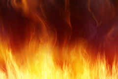 Fire background. Abstract fire background for your project Royalty Free Stock Photos