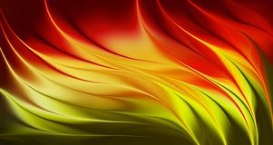 Fire background with bright gradient and blur effects royalty free stock photography