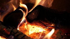 Fire background stock video footage