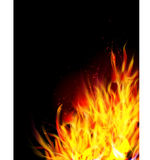 Fire background, Royalty Free Stock Photos