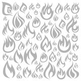 Fire a background Stock Photo
