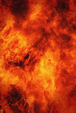 Fire background a symbol of hell and inferno Stock Images