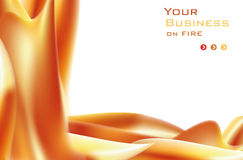 Fire Baclground. Abstract ardent background whit space for text great for web,print or presentation Royalty Free Stock Photography