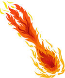 Fire Ball. Illustrations vector of Fire Ball royalty free illustration