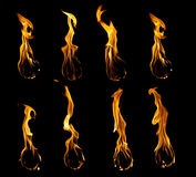 Fire Ball Collection Royalty Free Stock Image