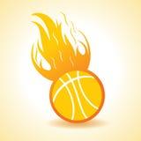 Fire ball concept. Stock vector Stock Photo