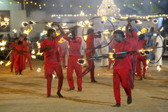 Free Fire Ball Dancers Perform During The Kataragama Festival In Sri Lanka. Royalty Free Stock Photos - 73313058